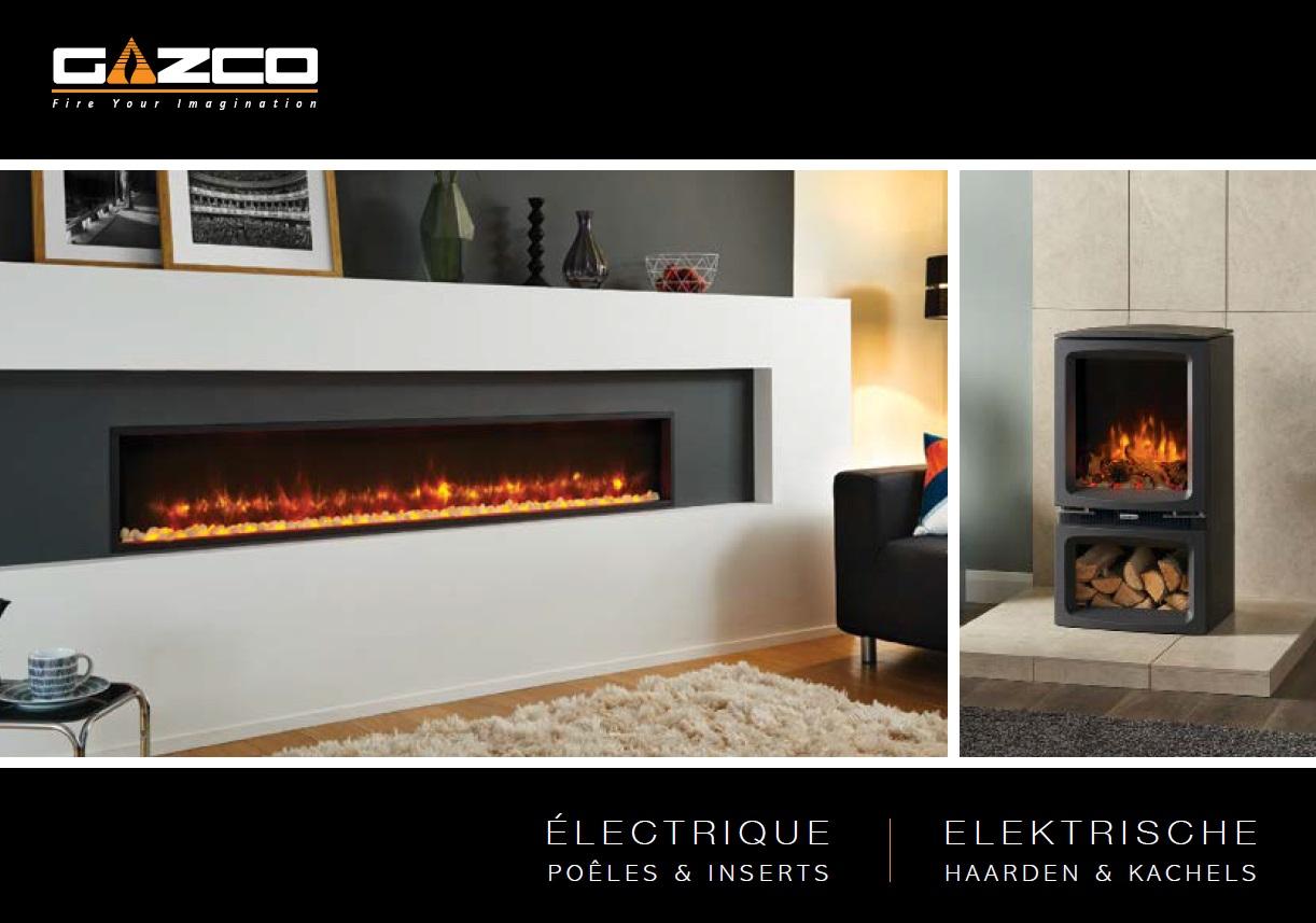Catalogue foyers électriques Gazco