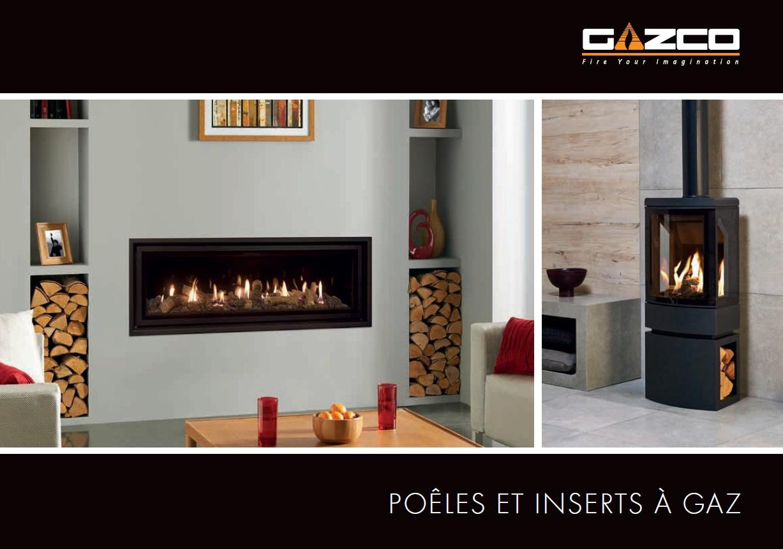 Catalogue Foyers et Poêles Gaz de Gazco