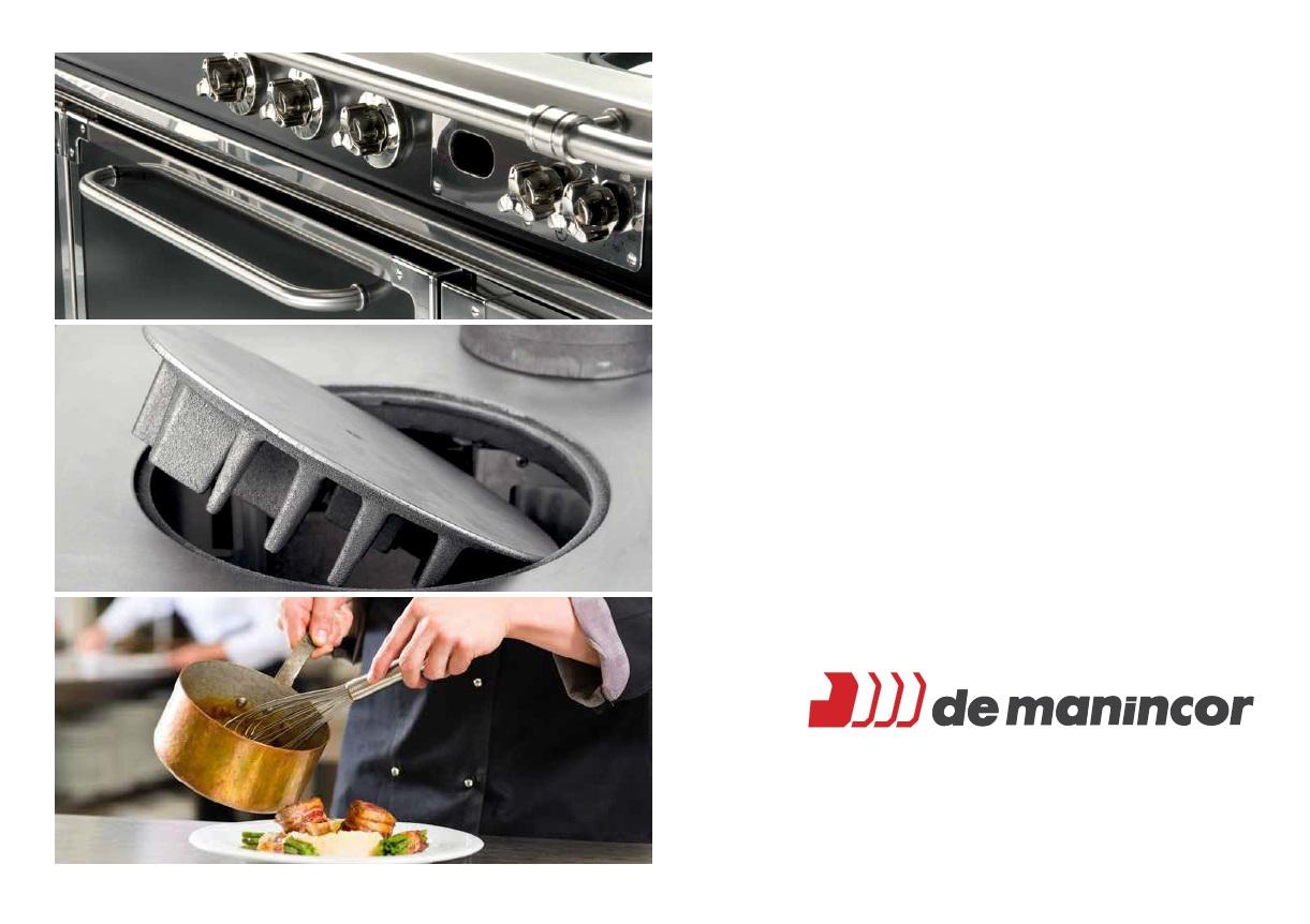 Catalogue Gamme Professionnelle Cuisinières Demanincor